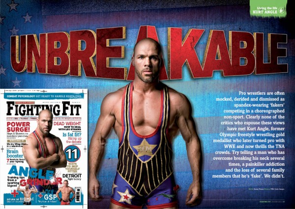 Kurt Angle in Fighting Fit