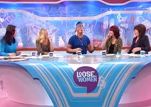 Hulk Hogan on Loose Women